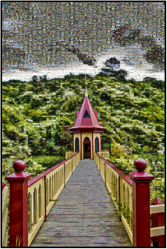 post box arrowtown, Susan Cleaver, Artist, mozaics, mandalas, collage, stock photos, digital art and more, experiencing the visual element of nature through photography